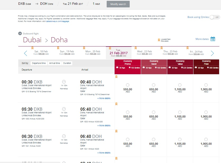 Qatar Airways promotion code available again! Good news for all of you planning to use service of this carrier as they have just released brand new Qatar Airways promotion code ! Experience service of Airline of the year and , Qatar Airways, for less taking advantage of this promo offer.