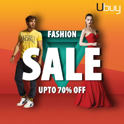 Get 70% Off on fashion sale