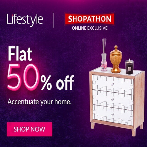 Lifestyle Sale: 50% Off Over 7k Products
