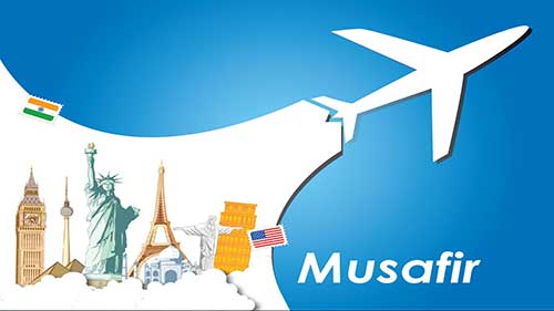 Musafir is an online based travel agency based in Mumbai. Musafir gives you several offers and musafir promo codes to plan your holiday trips.
